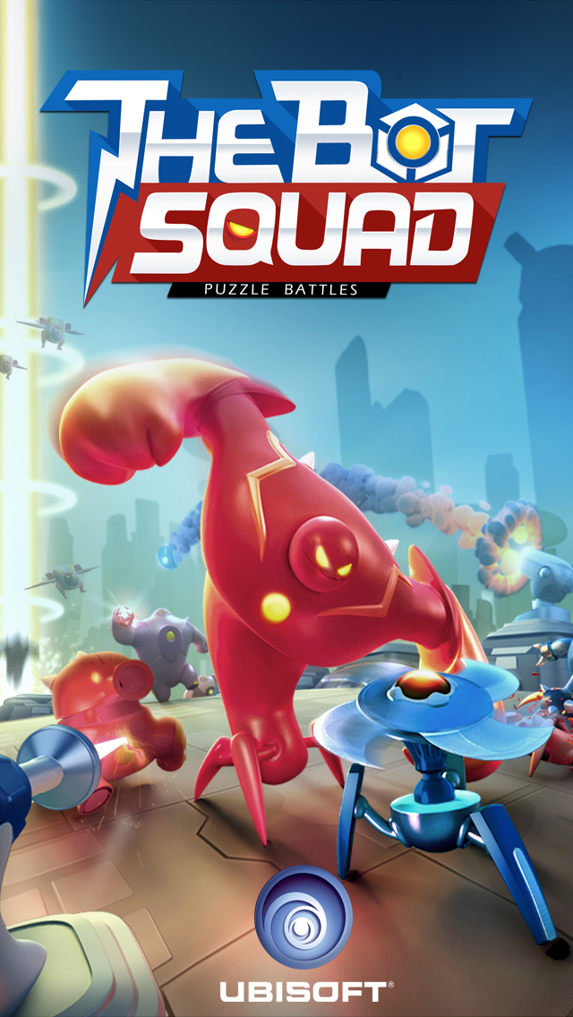 The Bot Squad: Puzzle Battles screenshot 1