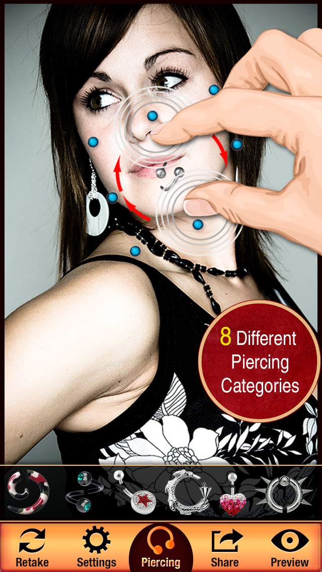 Body Piercing Booth screenshot 2