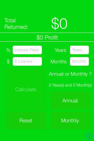 Simple Interest Calculator - náhled