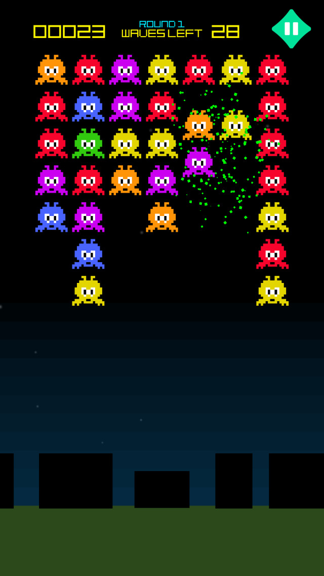 Earth Invasion - Galaxy Aliens vs United Alliance screenshot 2