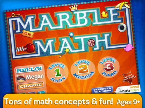 Marble Math screenshot 6