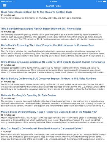 DAILY STOCKS: Stock Market Scans & Analysis screenshot 10