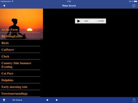 Relax Sound screenshot 2