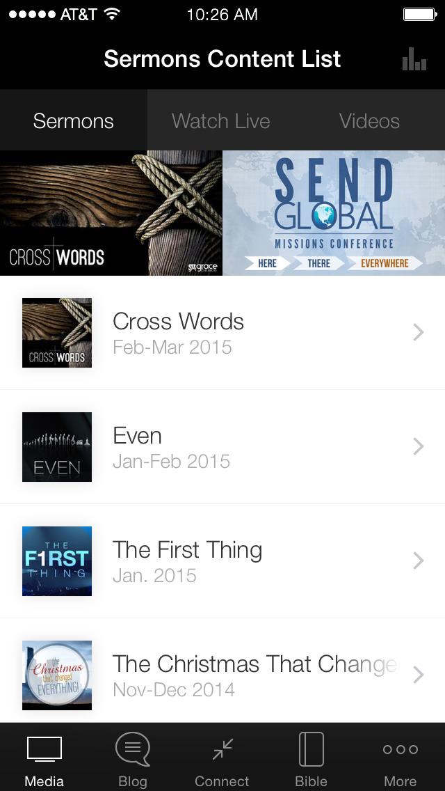 Grace Church App screenshot 1