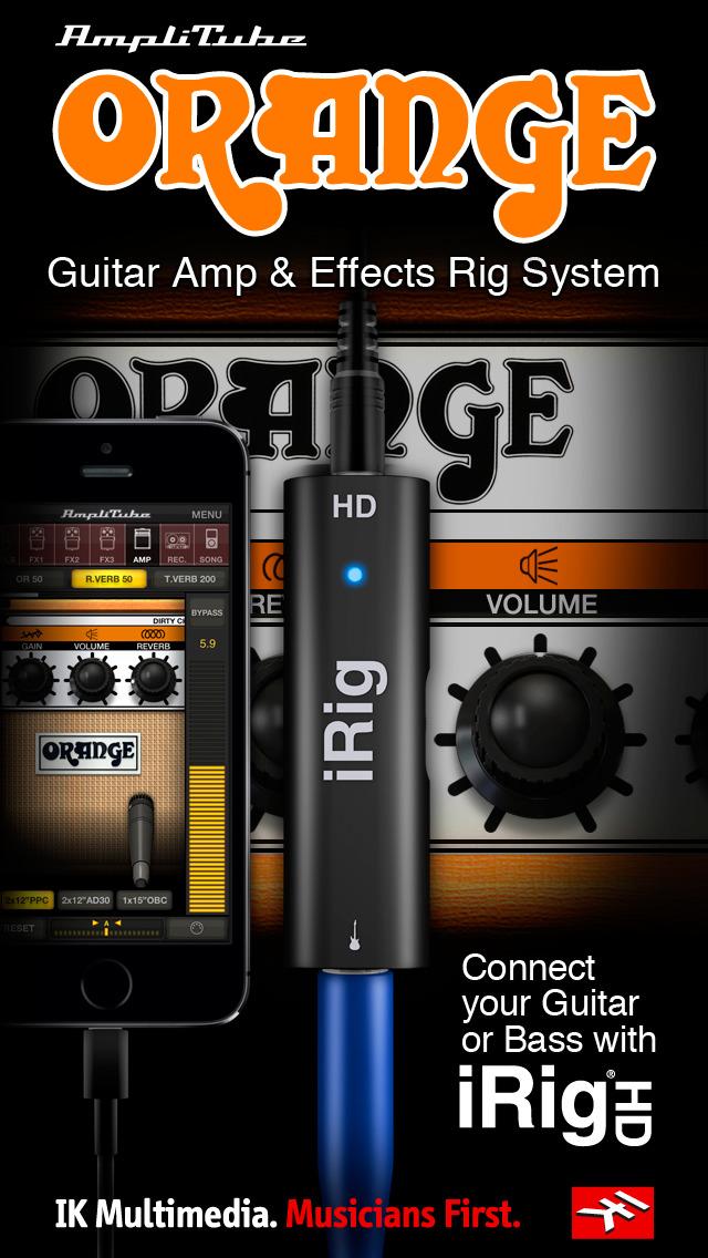 AmpliTube Orange screenshot 2
