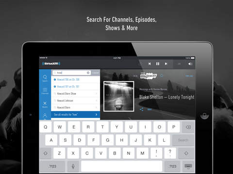 SiriusXM-Music, Comedy, Sports screenshot 10