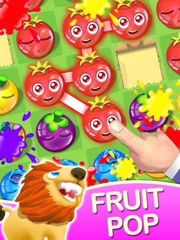 Fruit Pop Vacation - Summer Trip screenshot 5