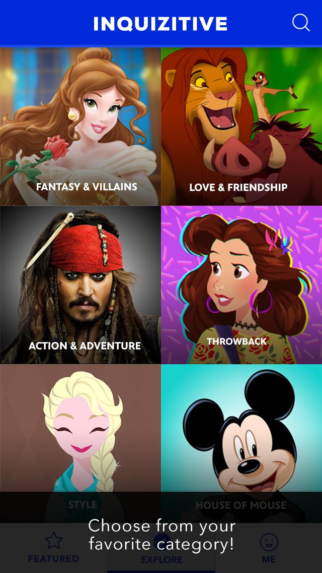 Disney Inquizitive screenshot 2