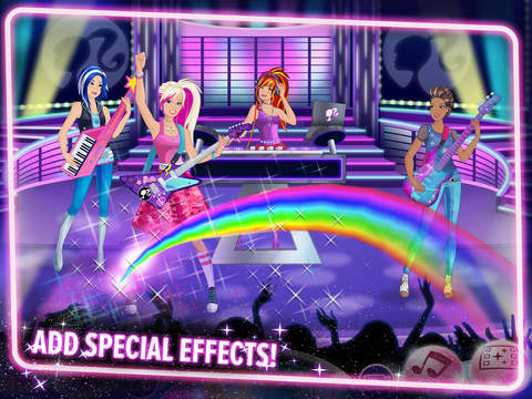 Barbie Superstar! - Music Video Maker screenshot 9