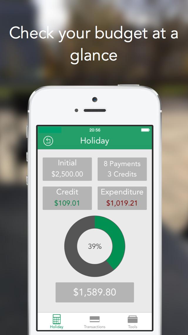AffordIt - Budget Tracker screenshot 1