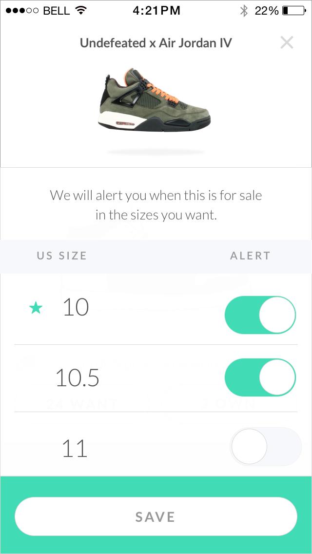 GOAT – Sneakers & Apparel screenshot 3