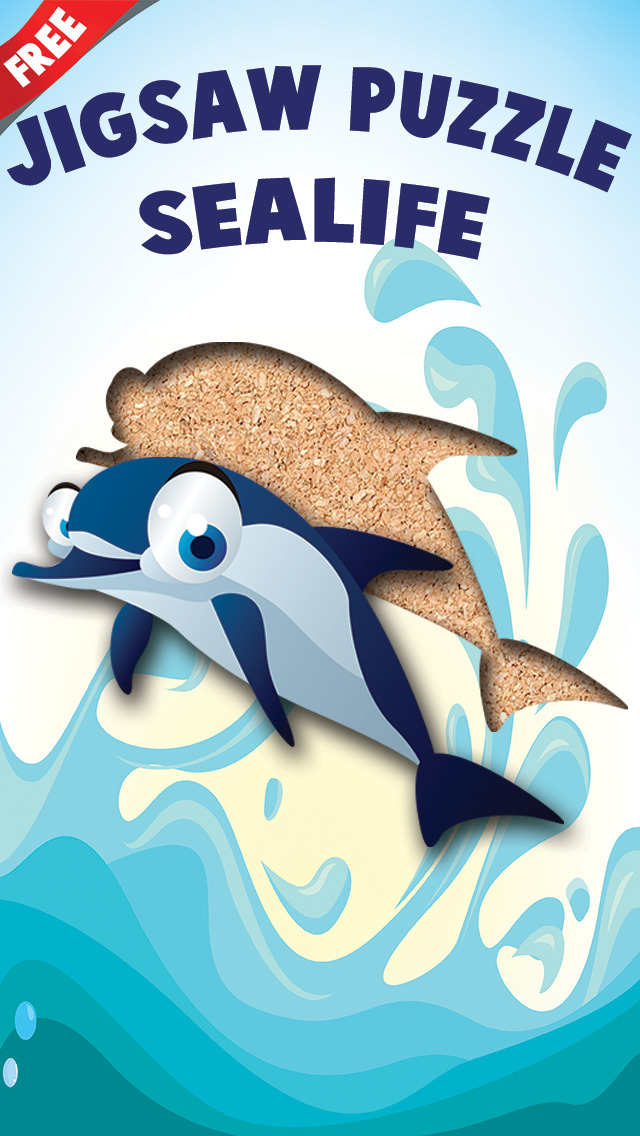 Free Sealife Cartoon Jigsaw Puzzle screenshot 5