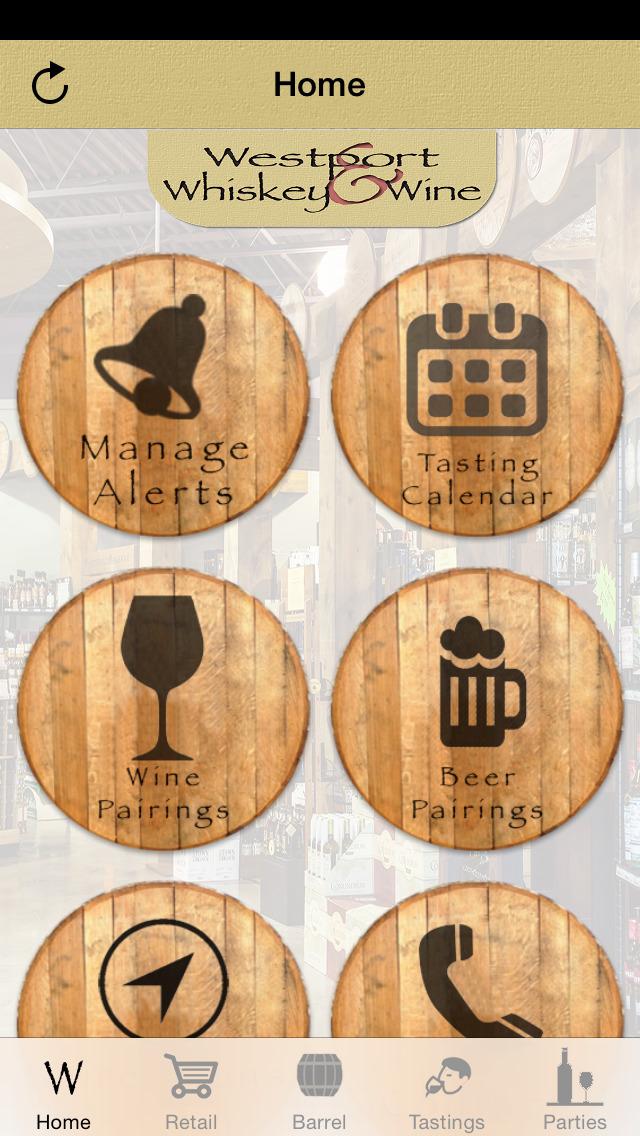 Westport Whiskey & Wine screenshot 1