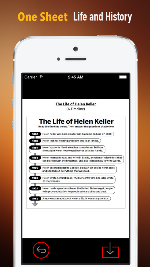 Helen Keller Biography and Quotes: Life with Documentary screenshot 2