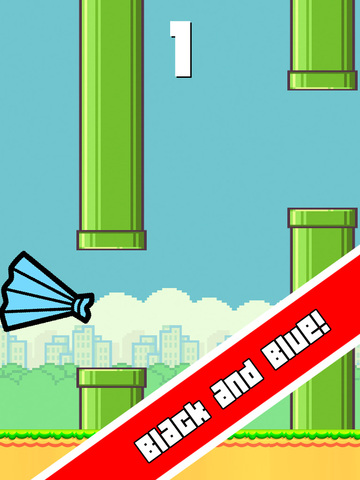 Impossible Flappy Dress Color screenshot 6