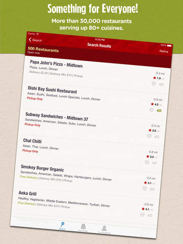 Grubhub: Local Food Delivery screenshot 7