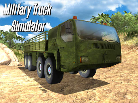 Army Truck Offroad Simulator 3D Full - Drive military truck! screenshot 8