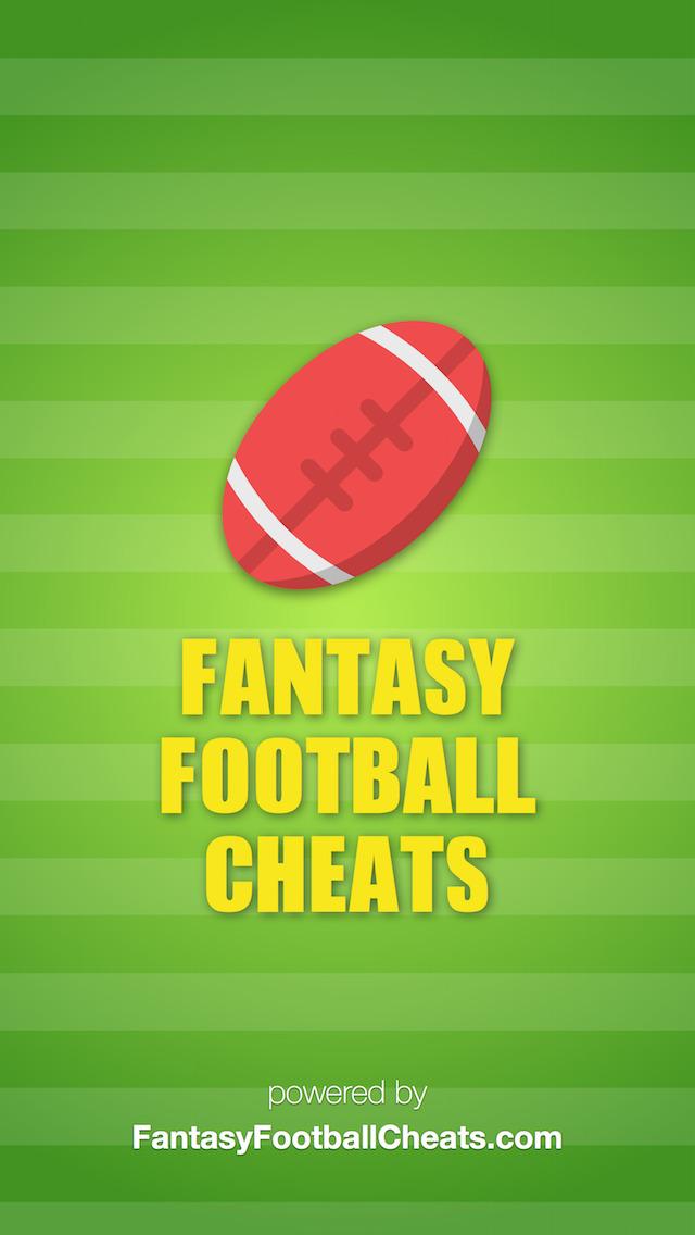 Fantasy Football Cheats - Sleeper Picks, Player News & More! screenshot 1