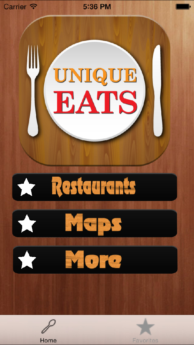 Guide for Unique Eats & Unique Eats TV Locator screenshot 1