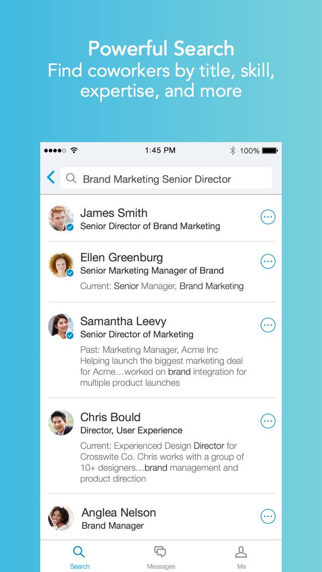 LinkedIn Lookup screenshot #2