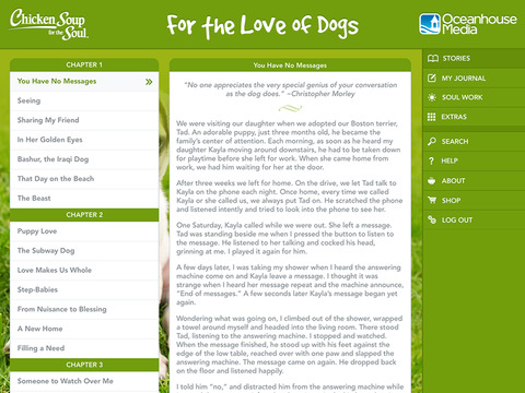 For the Love of Dogs from Chicken Soup for the Soul ® screenshot 7