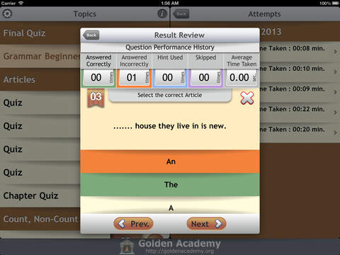 Grammar Expert : English Grammar Beginner FREE screenshot 10