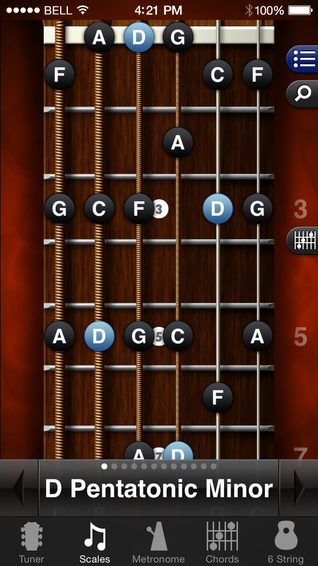 GuitarToolkit - tuner, metronome, chords & scales screenshot 5