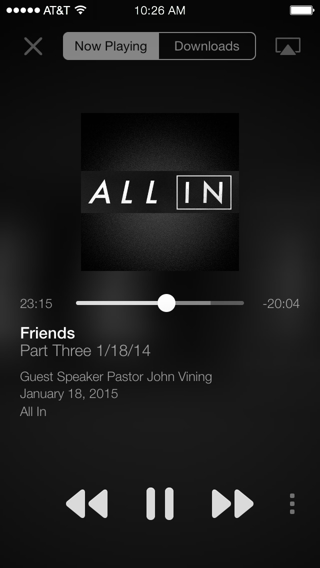 Living Faith Youngsville screenshot 2