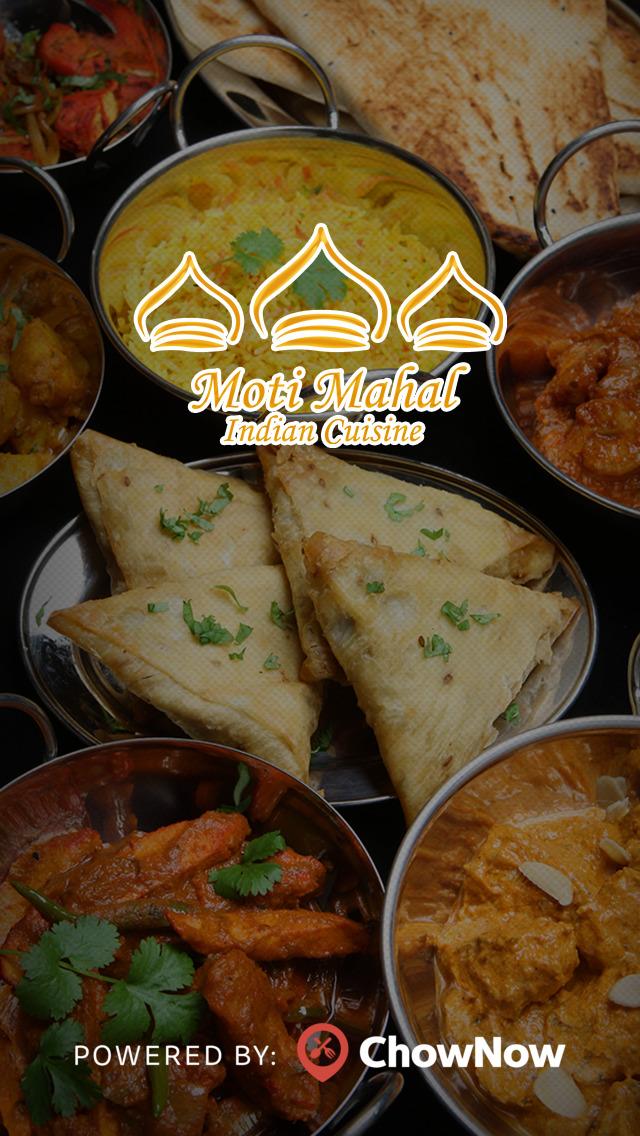 Moti Mahal Indian Restaurant screenshot 1