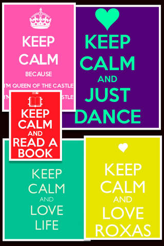 Keep Calm Wallpapers and Posters Free - náhled