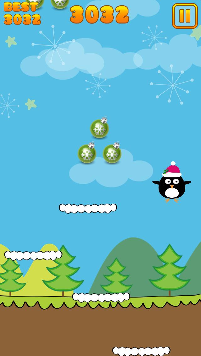 Cute Penguin Jump screenshot 2