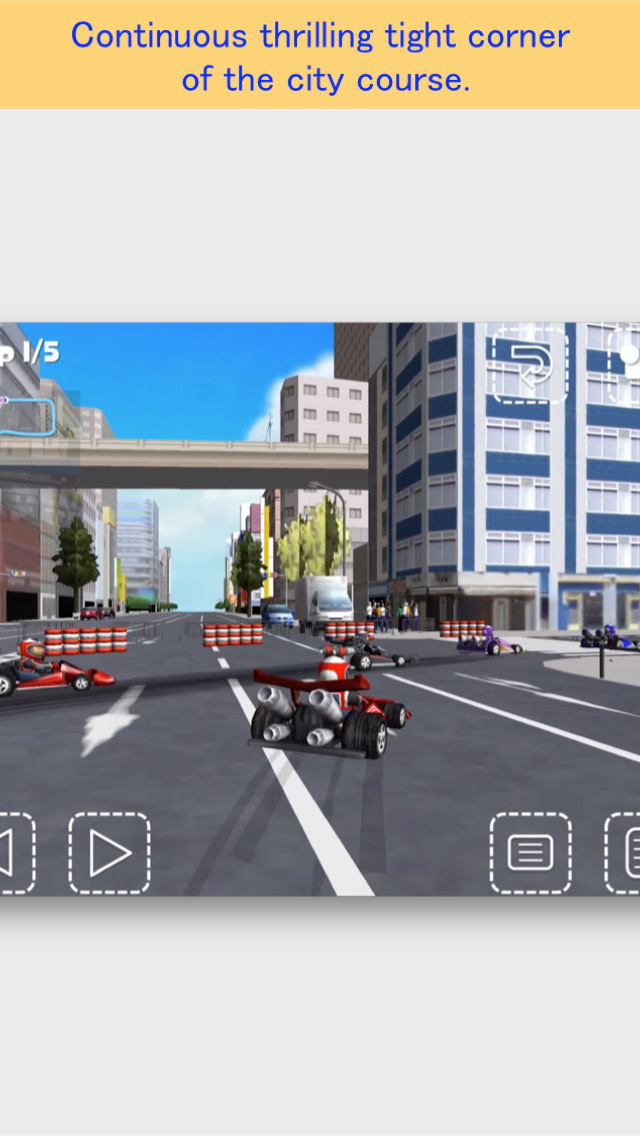 Akiba Kart Racing FREE screenshot 2