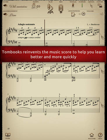 Play Beethoven – Sonate « au clair de lune » (part - náhled