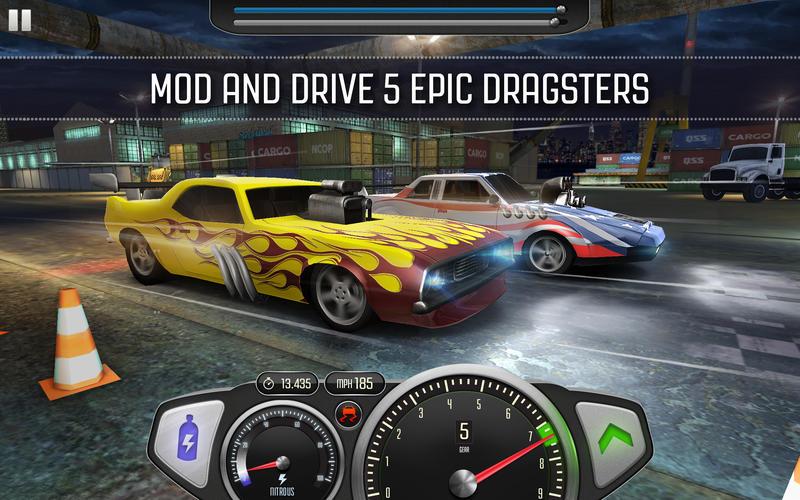 Top Speed: Drag & Fast Racing screenshot 1
