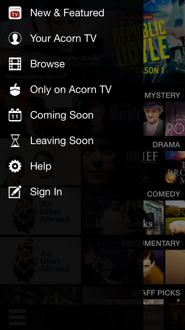 Acorn TV screenshot 2
