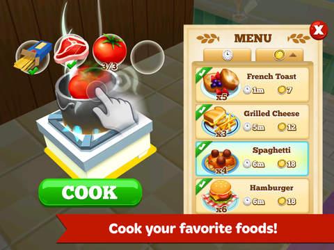 Restaurant Story 2 screenshot #2