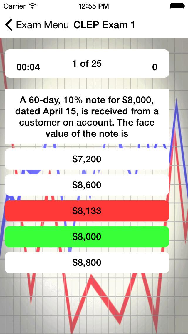 CLEP Financial Accounting Prep screenshot 2