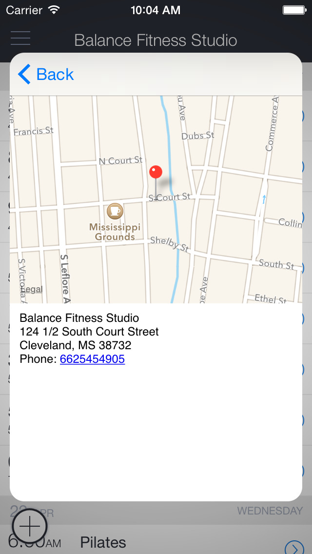 Balance Fitness Cleveland screenshot 3