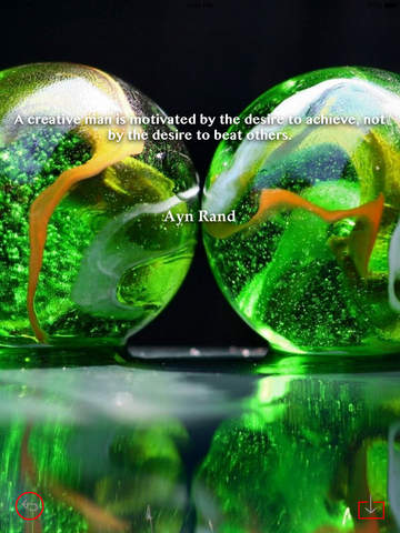 Glass Art Theme HD Wallpaper and Best Inspirational Quotes Backgrounds Creator screenshot 9