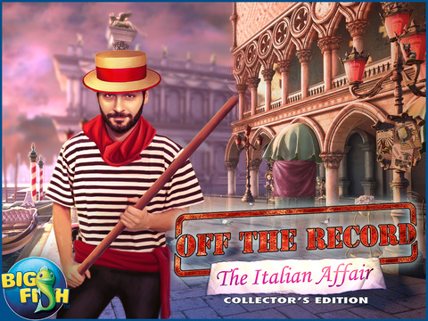 Off the Record: The Italian Affair HD - A Hidden Object Detective Game screenshot 5
