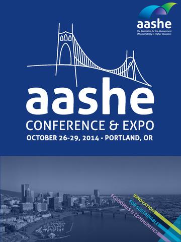 AASHE Conference screenshot 3