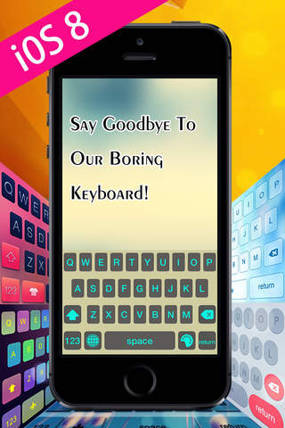 Keyboard Skins Pro For iOS 8 - náhled