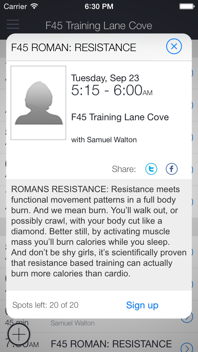 F45 Training Lane Cove screenshot 2