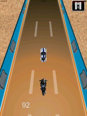 Radiation Fire Bike Pro - Furious One Touch Motorcycle Racing screenshot 9
