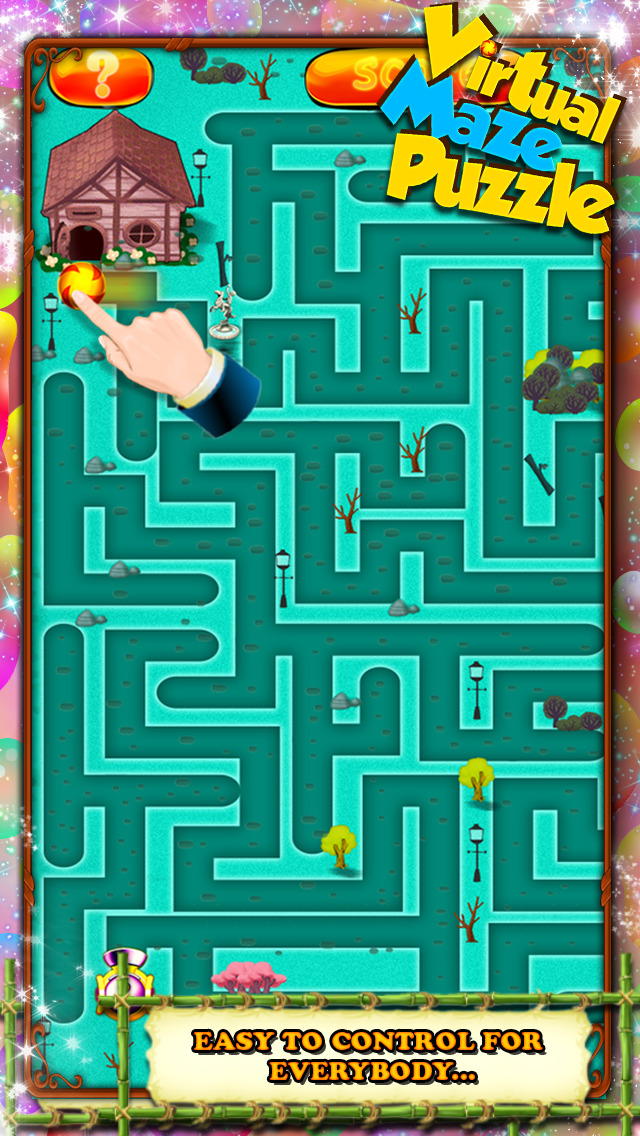 Virtual Maze Puzzle screenshot 4