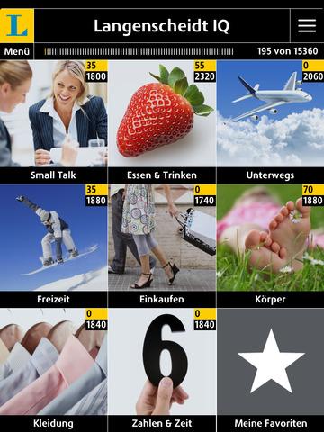 Spanisch Vokabeltrainer Langenscheidt IQ – Vokabeln lernen mit Bildern screenshot 6