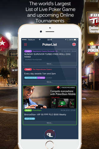 PokerList - The world's largest list of poker game