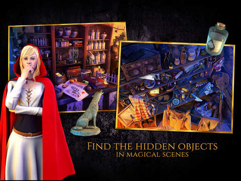 Red Riding Hood - Star-Crossed Lovers - A Hidden Object Adventure (FULL) screenshot 9