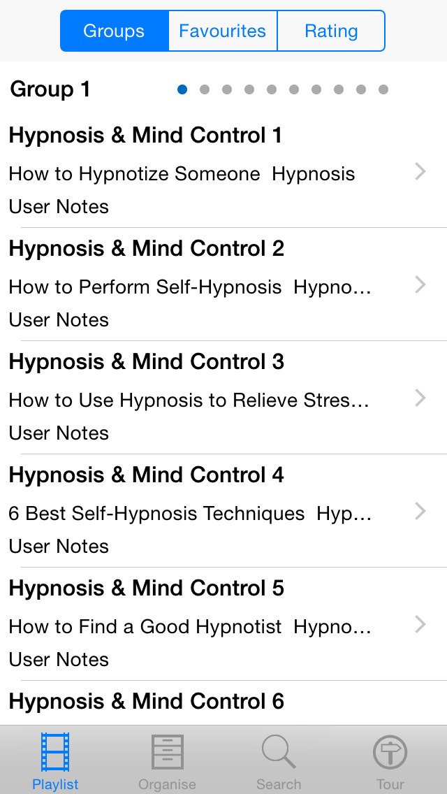 Hypnosis & Mind Control screenshot 2