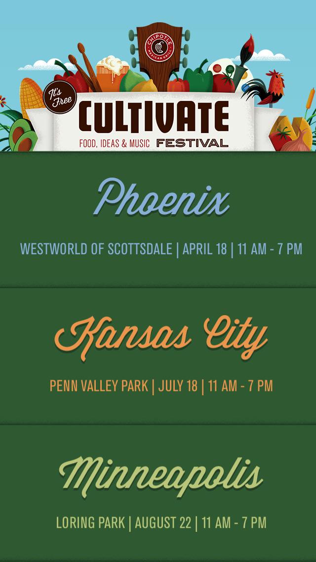 Chipotle Cultivate Festival screenshot 5
